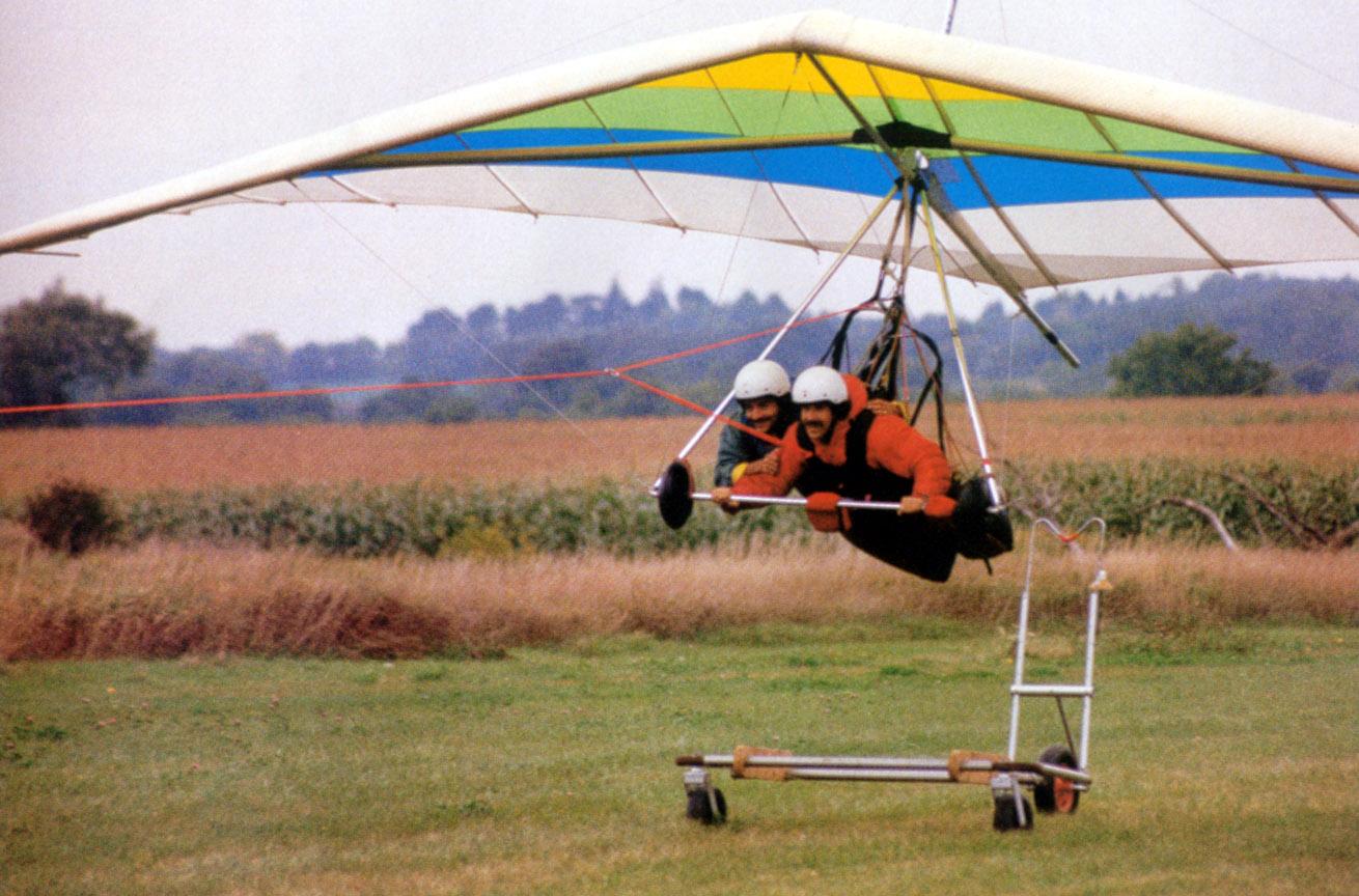 Hang Gliding Aerotowing